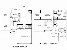 5 bedroom house plans 1 story 2 story house plans best of a 5 bedroom floor plans 3 cozy design