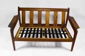 Teak Furniture Singapore Vintage Danish Beige Teak Sofa By Arne Wahl Iversen For Komfort