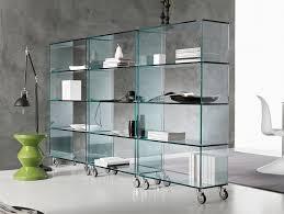 glass cabinet nella vetrina tonelli libreria contemporary italian glass cabinet