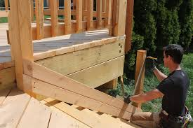 How To Install Stair Banister Today U0027s Tip Deck Stair Rail Layout