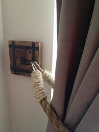 Rope Tiebacks For Curtains Rustic Curtain Holdbacks 100 Images Andrea Cook Interiors
