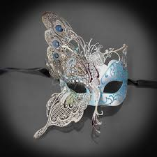 silver masquerade masks for women butterfly design mask venetian masquerade mask for women silver