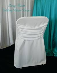 disposable folding chair covers georgeous white folding chair covers white swag back folding chair