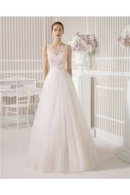 a line princess wedding dress line princess illusion boat neck see through back tulle lace