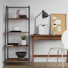 Easy Crate Leaning Shelf And by Leaning Ladder Shelves Target