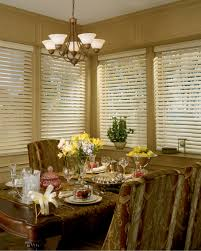 Dining Room Window Coverings by Wood Blinds Allure Window Coverings Window Treatments