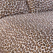 Leopard Print Duvet Leopard Print Duvet Cover Sweetgalas