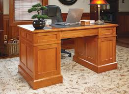 Wood Desk Plans by Cherry Pedestal Desk Woodsmith Plans Woodworking Plans