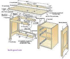 computer desk inspirational free computer desk woodworking plans