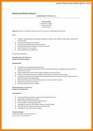 Resume Examples For Restaurant Jobs by Restaurant Cv Example Excelllent In Understanding The Basic