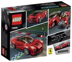 lego ferrari speed champions lego speed champions 75899 pas cher la ferrari