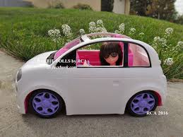 pink kid car 5 kid connection car barbie dolls by rca flickr