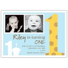 giraffe blue photo first birthday invitations paperstyle