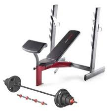 Weight Bench With Bar - weider bench with bar u0026 weight set no pain no gain bundle