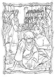 miriam helped prince egypt coloring pages coloring sun