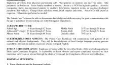 resume for a exle resumes summary patient care technician resume exle patient care