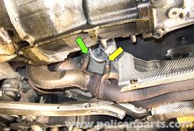 bmw e60 5 series 6 cylinder engine oxygen sensor replacement