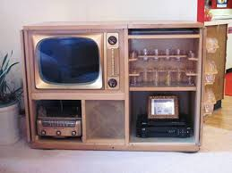 Small Flat Screen Tv For Kitchen - greg and tammy retrofit their vintage admiral tele bar to hold a