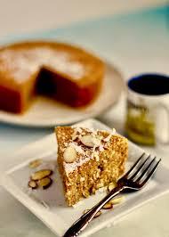 keto pressure cooker gluten free almond coconut cake recipe in