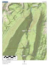 Phoenix Mountain Preserve Map by Mountain Stream Flood Sleepy Creek Wma Devil U0027s Nose Trail Map
