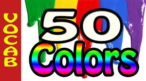 50 colors learn colors in english cores em ingles improve your