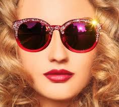 red bling sunglasses round mirrored sunglasses hippie round
