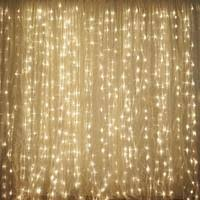 Led Light Curtains 600 Sequential Gold Led Lights Big Wedding Party Photography