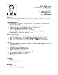 Communication Skills Resume Example Resume Sample Flight Attendant Resume For Your Job Application