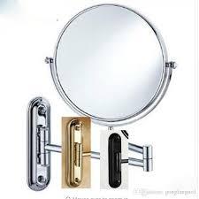 Antique Bronze Bathroom Mirrors 2018 8 Black Antique Bronze Chrome Golden Makeup Mirror Wall