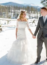 top 8 wedding dresses styles for winter wonderland weddings