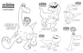 good dinosaur coloring pages free printable coloring pages