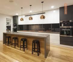 huge modern kitchens kitchen counters organize better renomania