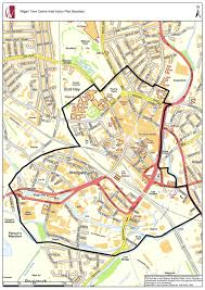 Paper Town Map Wigan Council Wigan Central Area Action Plan Issues Paper