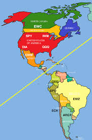 Map Of North And South America by Why Investors Should Care About The Differences Between North And