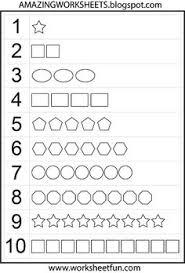 numbers 1 10 worksheets kindergarten traceable number 1 10 for