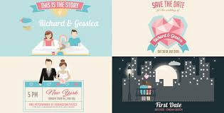 wedding invitation and love story slideshow u2022 after effects