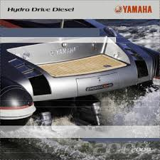 hydra drive diesel yamaha motor europe marine pdf catalogues