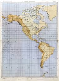 Outline Map Of The World by Large Detailed World Outline Map With Relief Part 1 Western