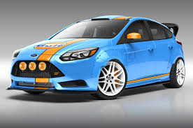gulf racing wallpaper wallpaper ford focus st cars revealed ahead of sema show hd for