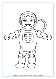 astronaut coloring page astronaut colouring page