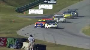 marshals narrowly dodge flying cars in horrific sports car crash