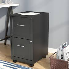 rolling file cabinet wood 2 drawer filing cabinets you ll love wayfair