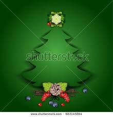 christmas tree decorationstransparency blending effects gradient