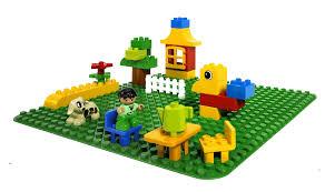 lego duplo 2304 large baseplate building kit alzashop