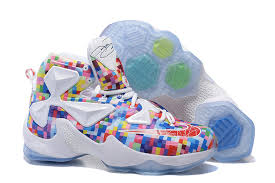 s basketball boots australia cheap s nike lebron xiii basketball shoes colorful white
