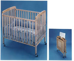 Folding Baby Bed Cpsc L A Baby Announce Recall Of Folding Little Wood Cribs
