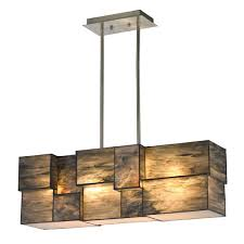 kitchen island light fixtures elk 72073 4 cubist contemporary brushed nickel kitchen island