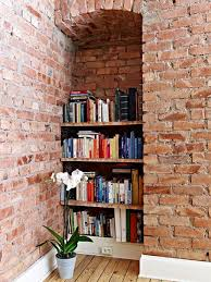 Bookcase In Wall 9 Creative Book Storage Hacks For Small Apartments
