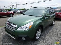 subaru outback green cypress green pearl 2014 subaru outback 2 5i limited exterior