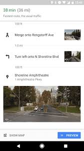 Map Street View Google Maps Directions Now Feature Street View Thumbnails